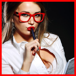 Woman in glasses Intimacy Advisor
