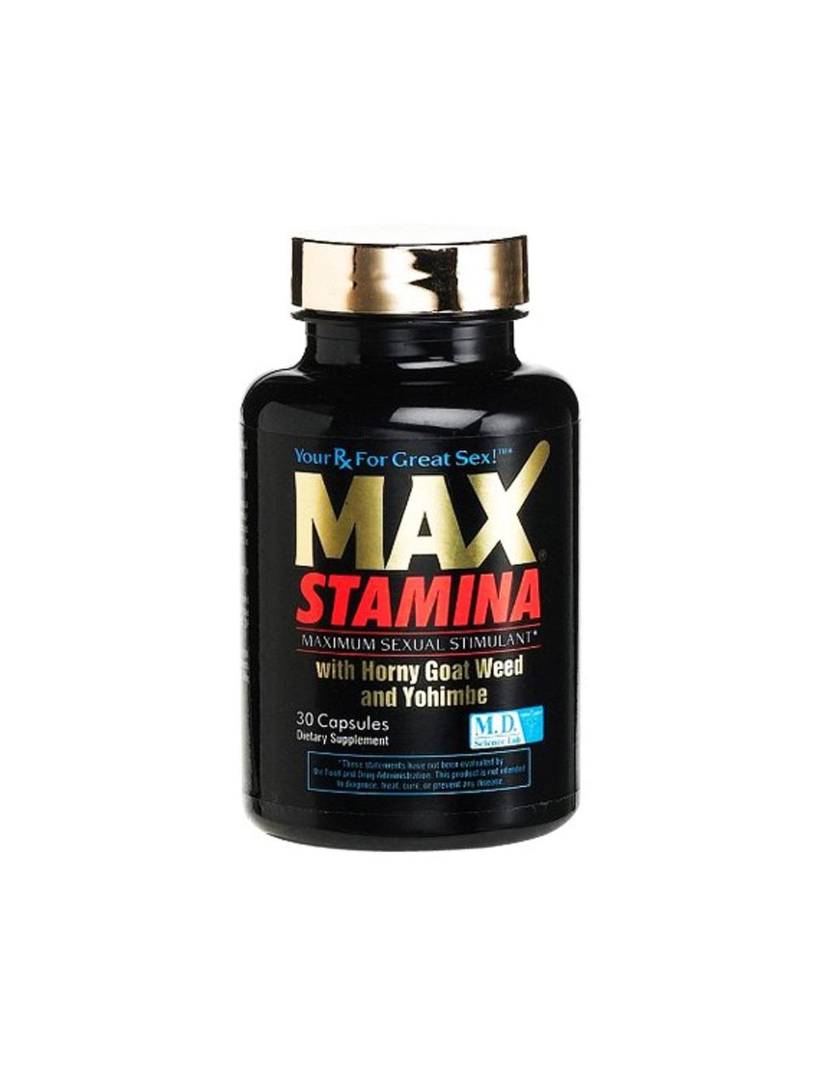 Max Stamina Pills 30Ct