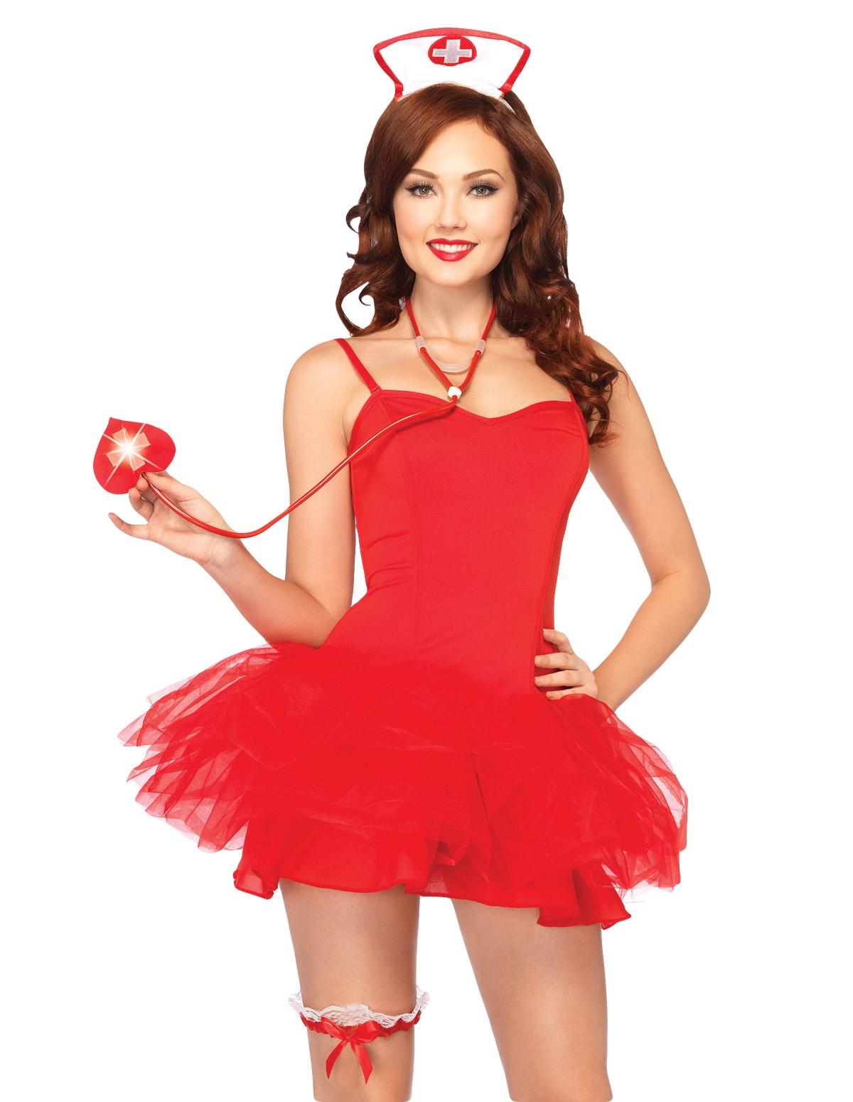 Led Nurse Costume Kit