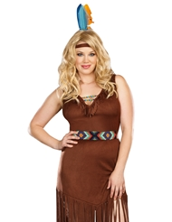 HOT ON THE TRAIL COSTUME - PLUS