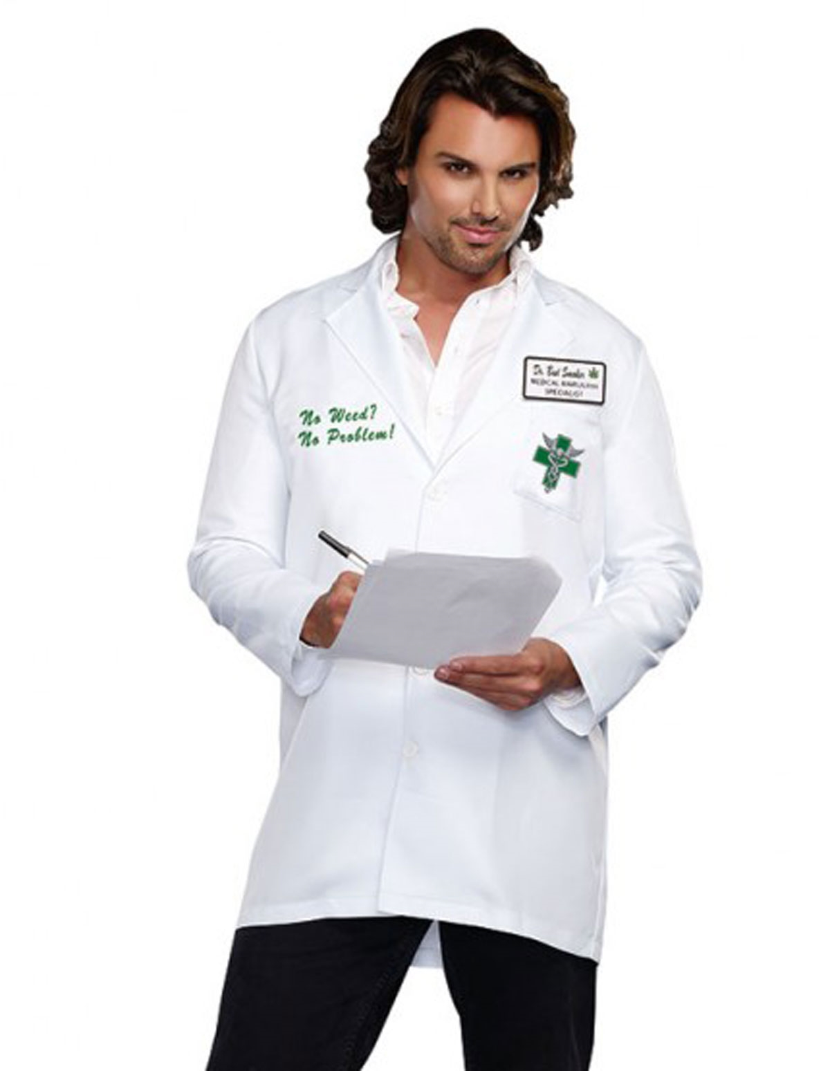 Dr. Bud Smoker Costume