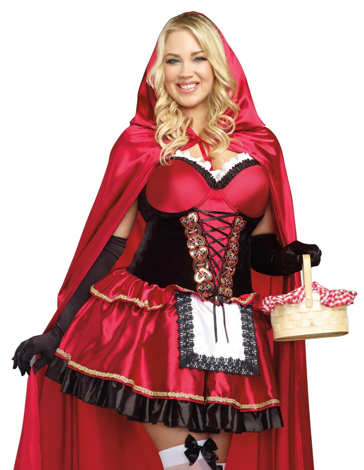 Little Red Costume - Plus