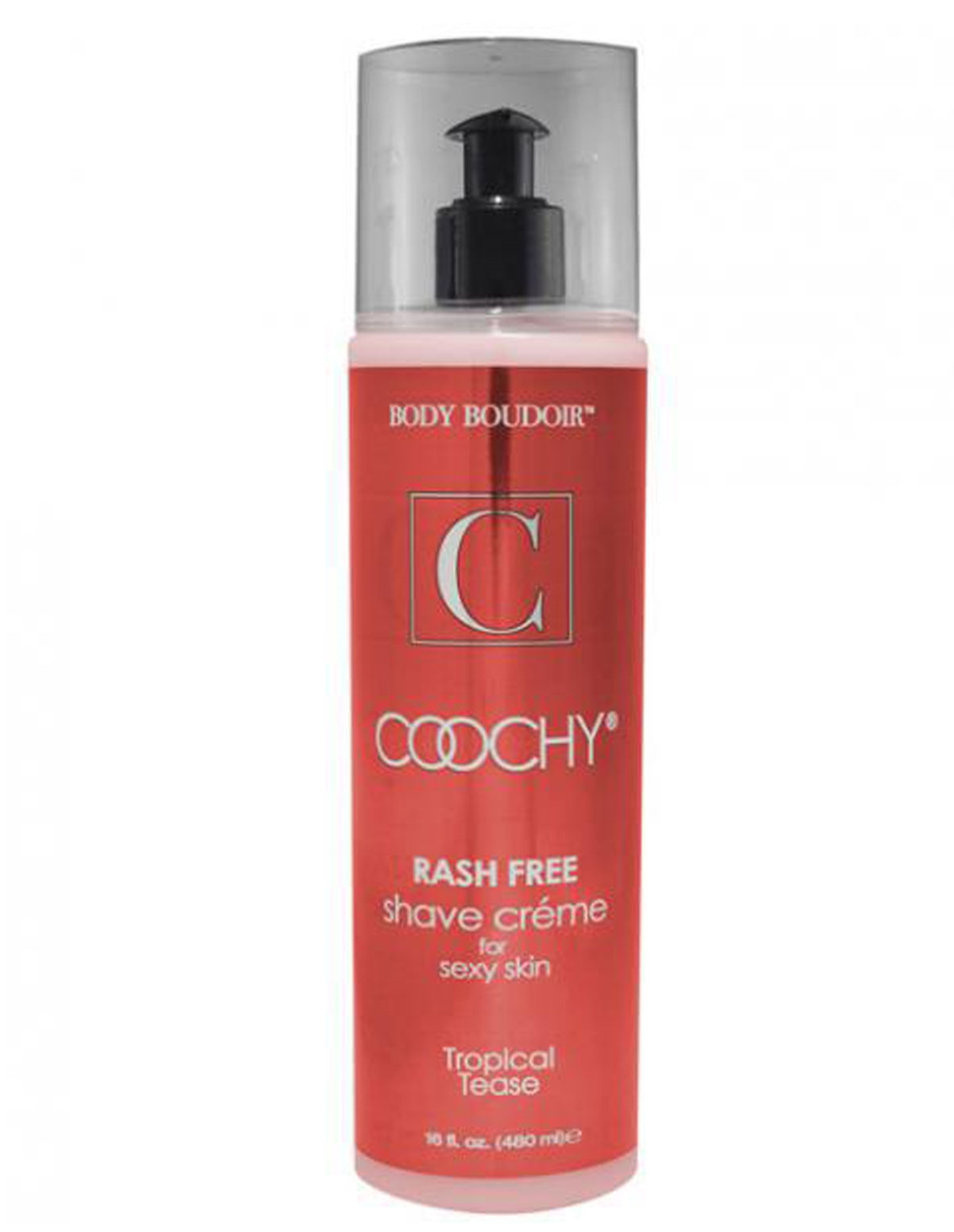 Coochy Tropical Tease 16 Oz Shave Cream