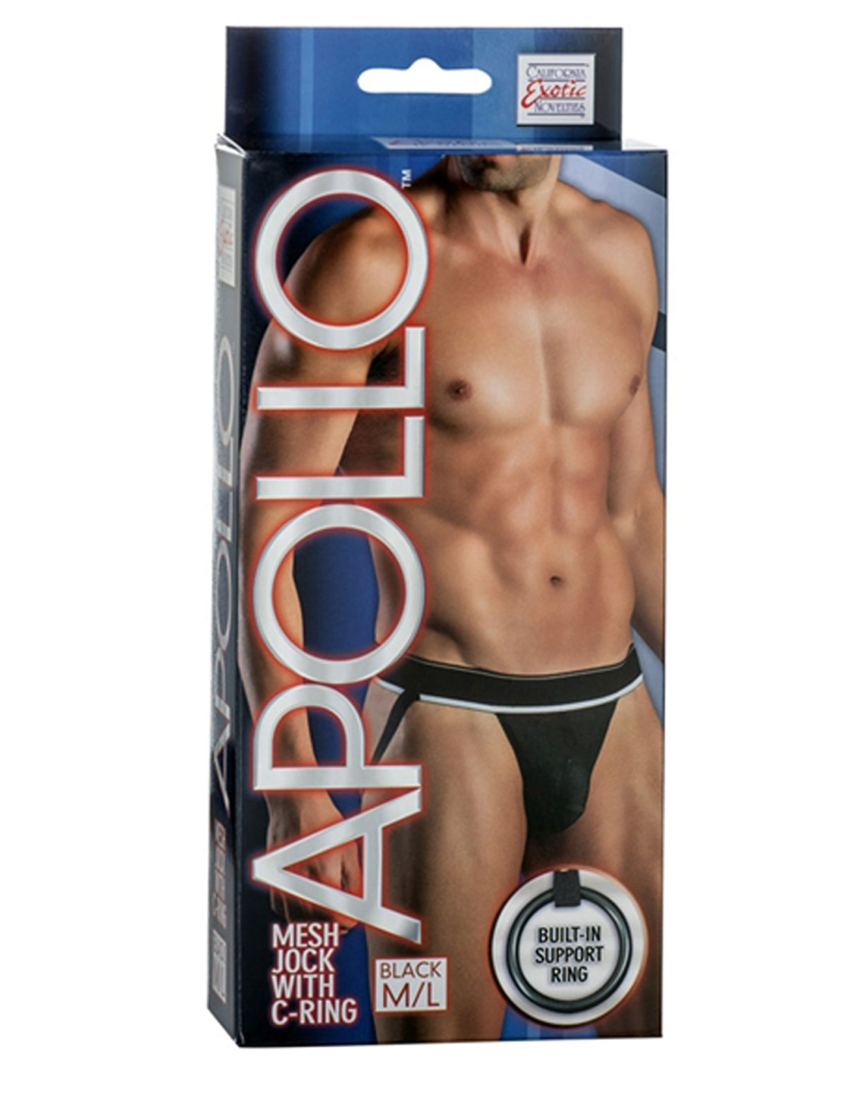 Apollo Mesh Jock With C-Ring