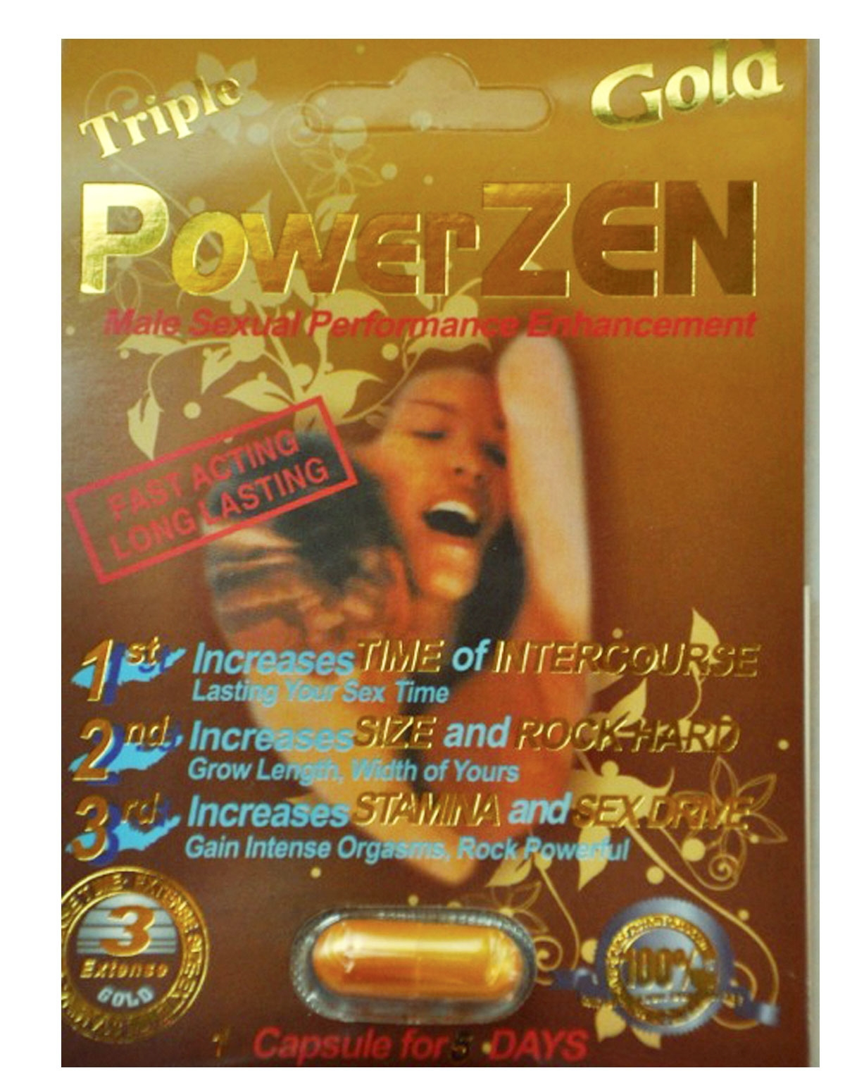 Triple Power Zen Gold