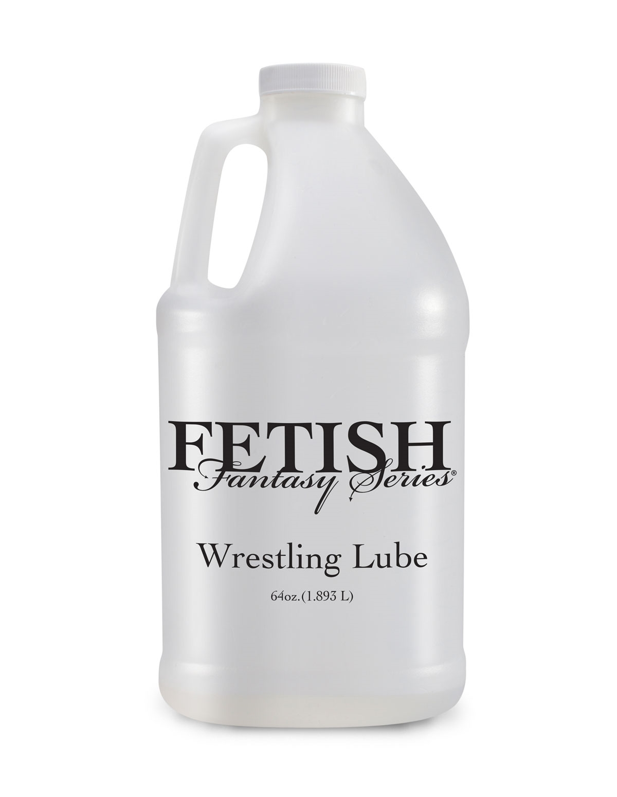 Fetish Fantasy Wrestling Lube 1/2 Gallon