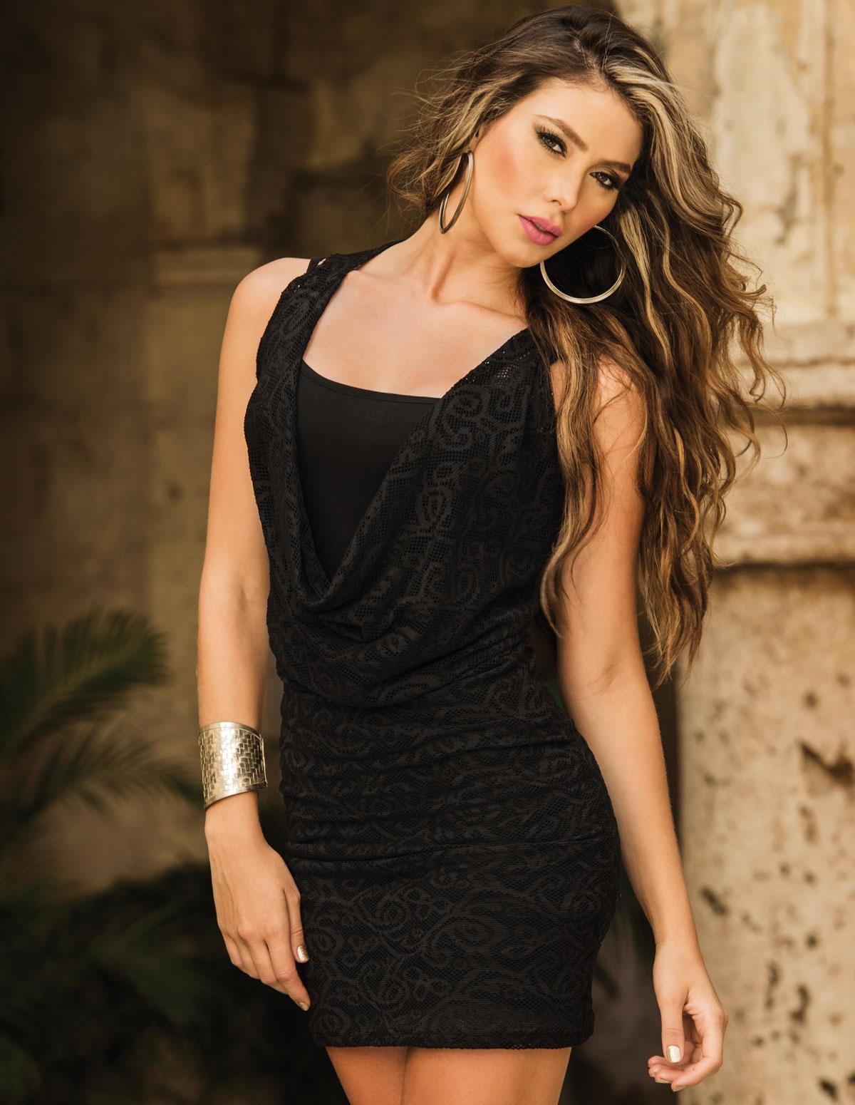 Convertible Mesh Dress