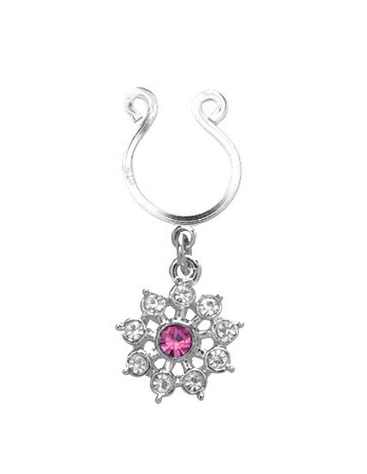 Flower Dangle Nipple Clip On