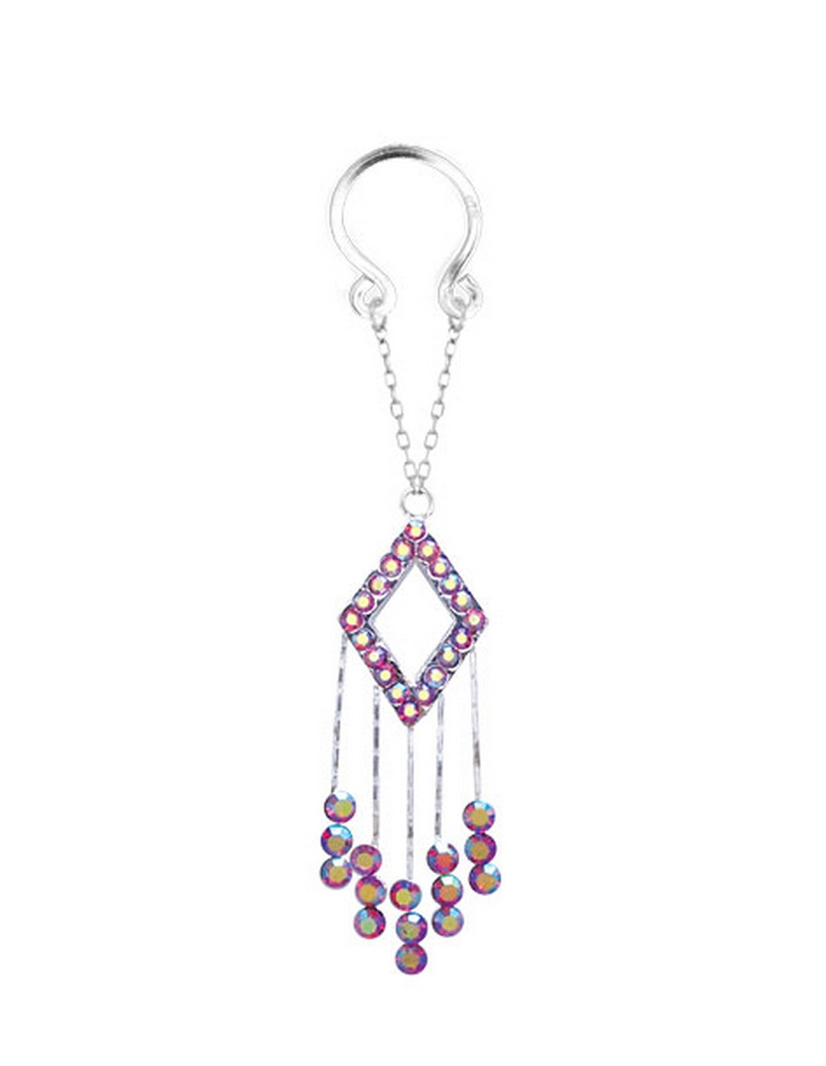 Tassle Diamond Dangle Nipple Clip On