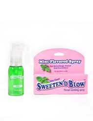 SWEET N BLOW MINT THROAT SPRAY