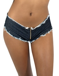 DAISY DUKE SHORT WITH ZIPPER
