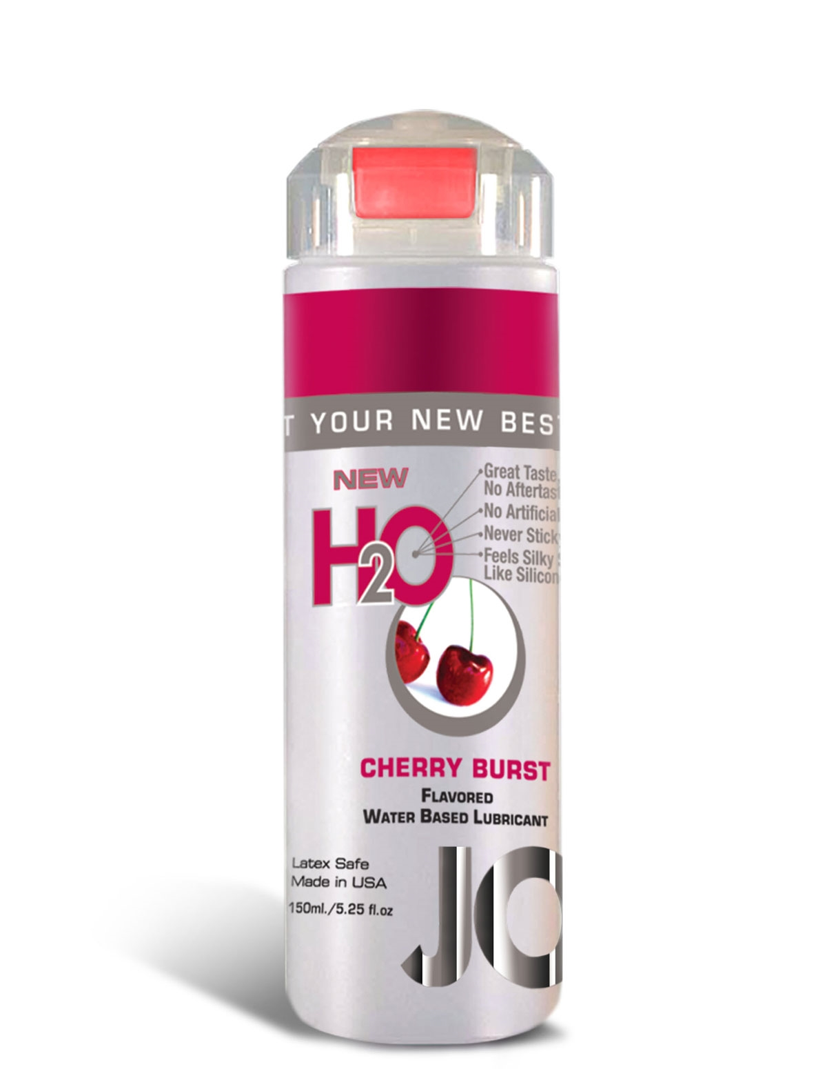 H2o Flavored Lubricant - Cherry 5.25 Oz