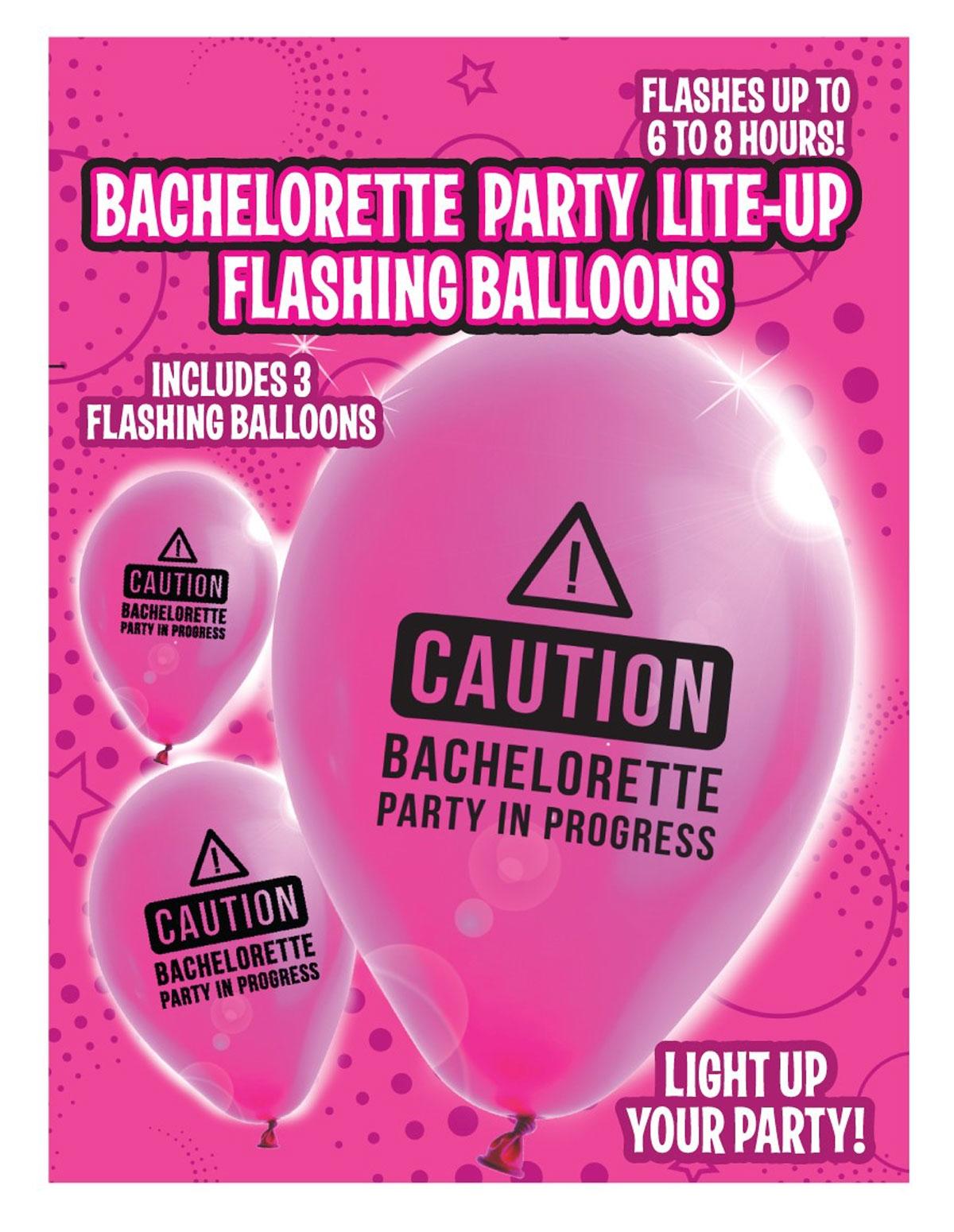 Bachelorette Lite-Up Balloons