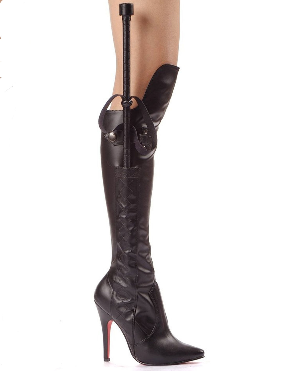 Sadie Pleather Boot With Crop