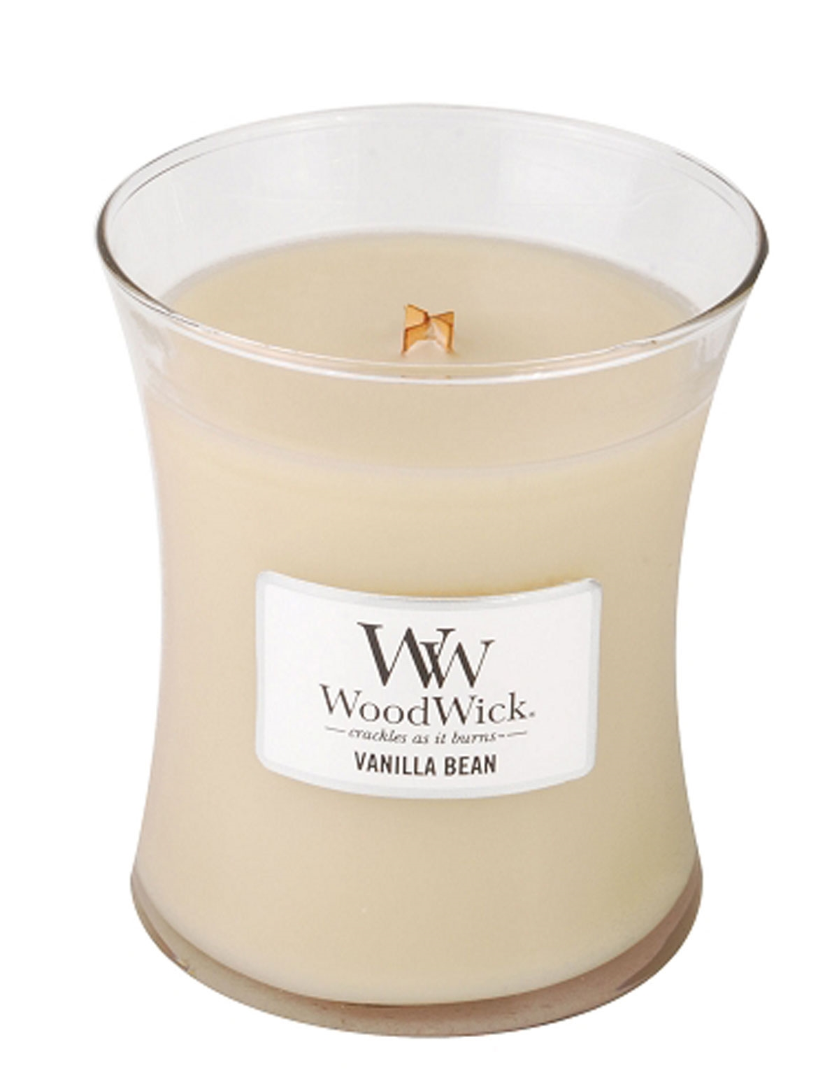 Vanilla Bean Medium Woodwick Candle