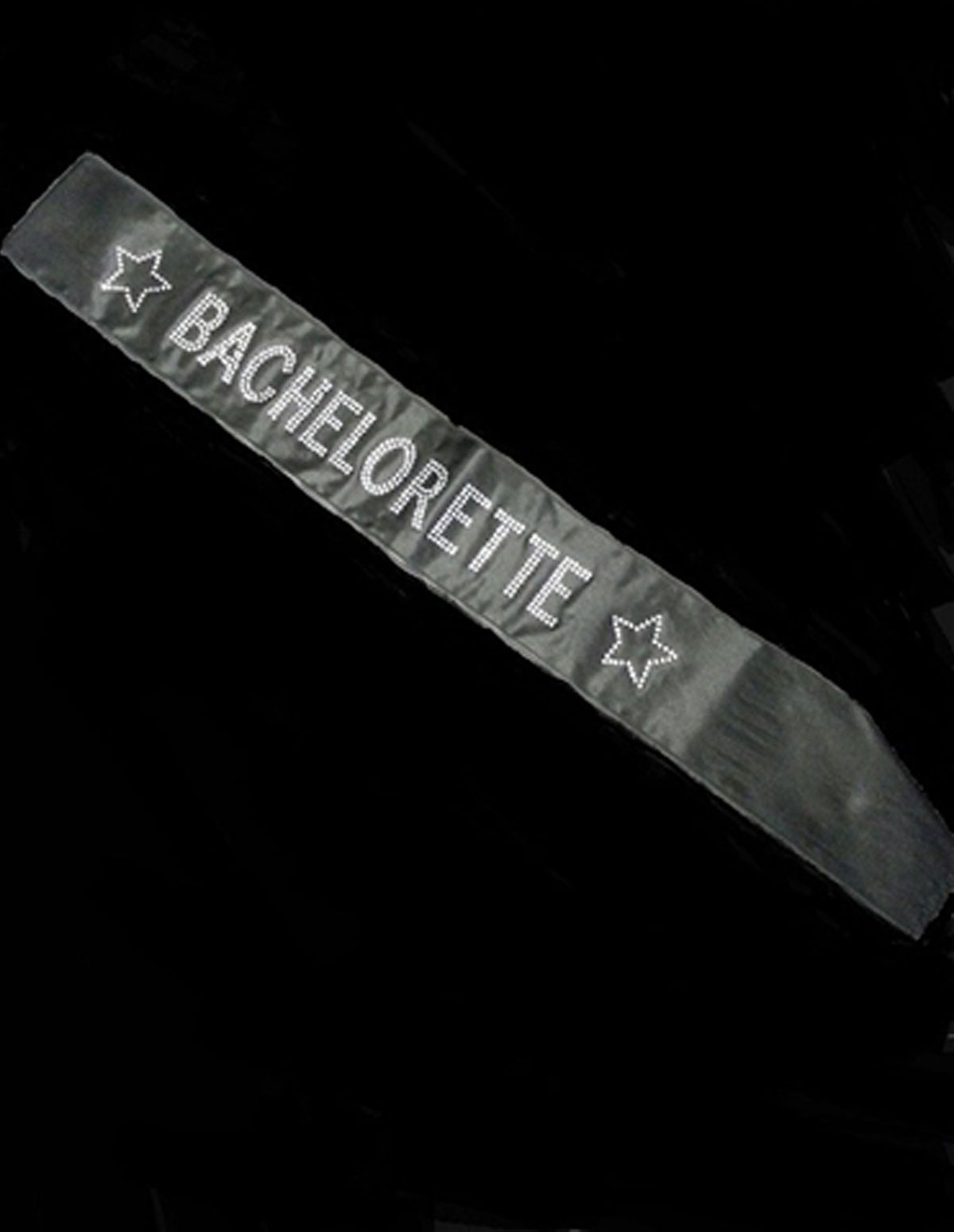 BACHELORETTE SASH WITH DIAMANTE WRITING