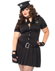 ARRESTING OFFICER COSTUME - PLUS