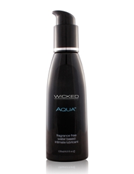 AQUA WATERBASED LUBRICANT 4 OZ