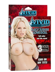 VIVID RAW JUICY JUGGS BLOW UP LOVE DOLL
