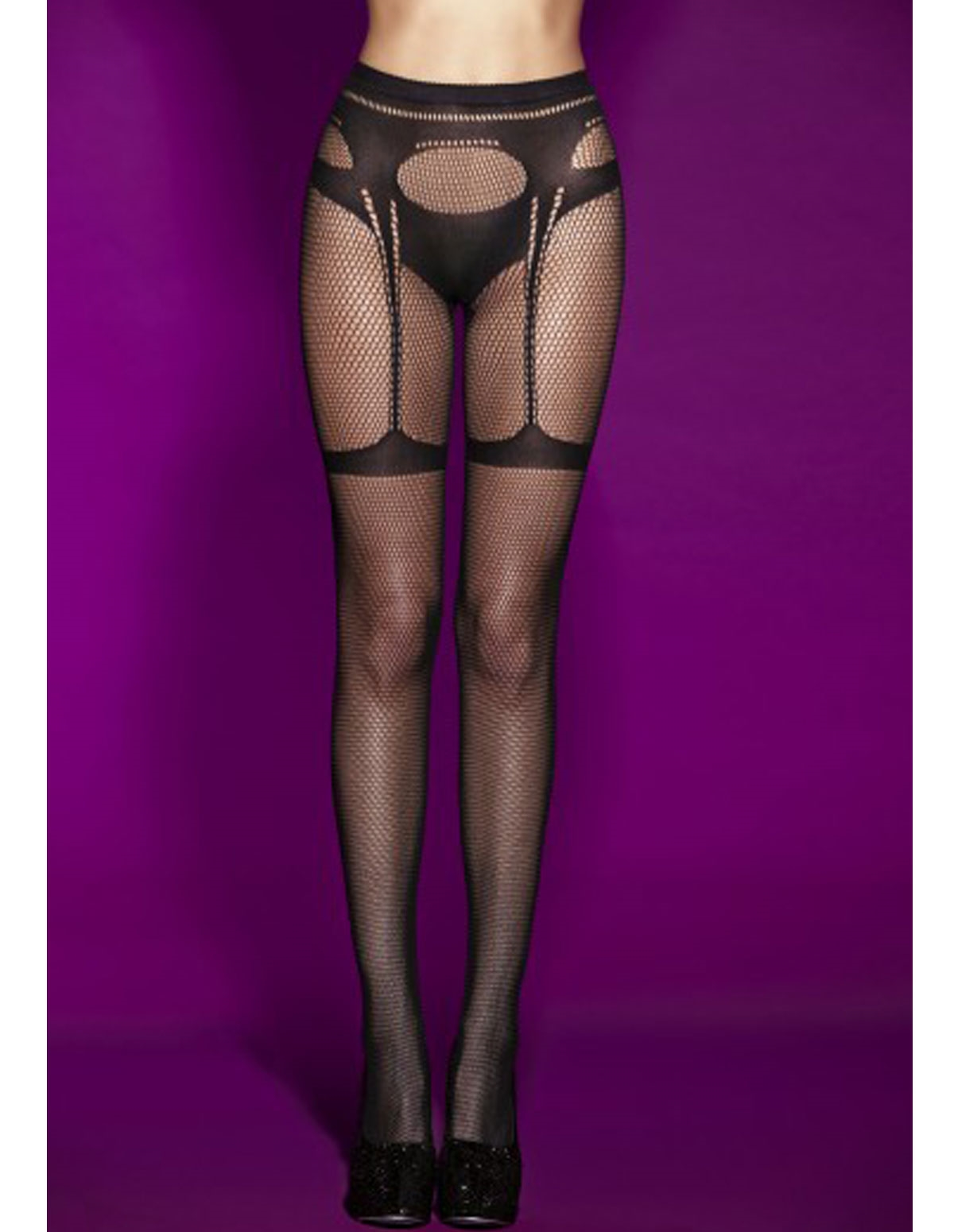 Triumph Faux Panty And Garter Pantyhose
