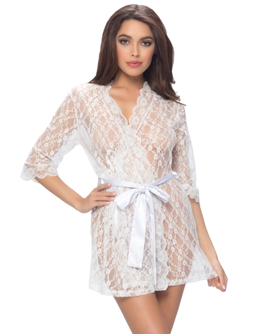 LOVING LACE ROBE