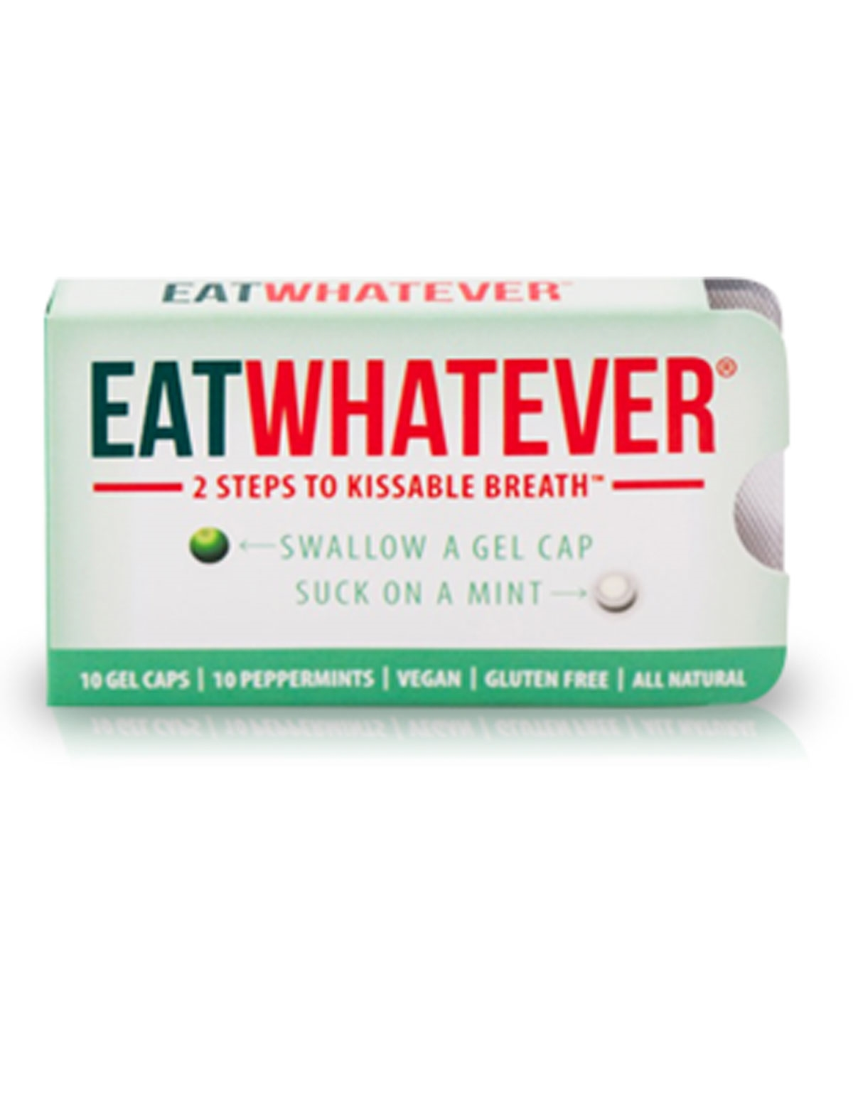 Eatwhetever Mint And Gel Cap