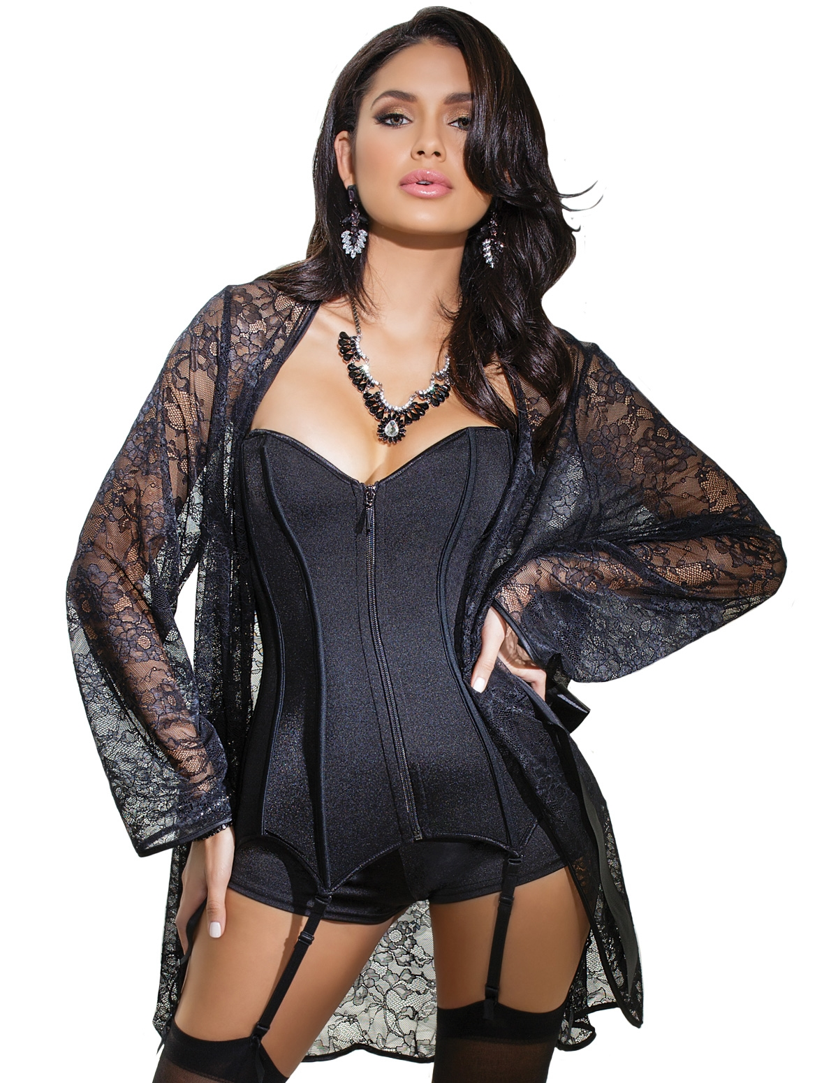 All Lace Robe