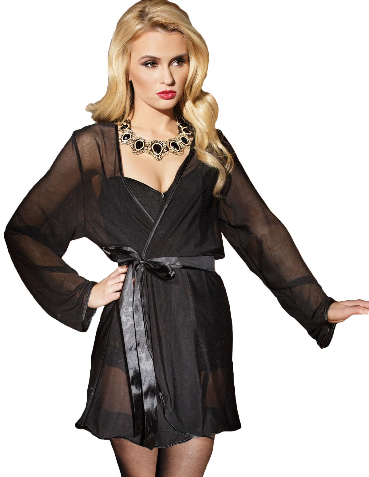 Classic Sheer Robe