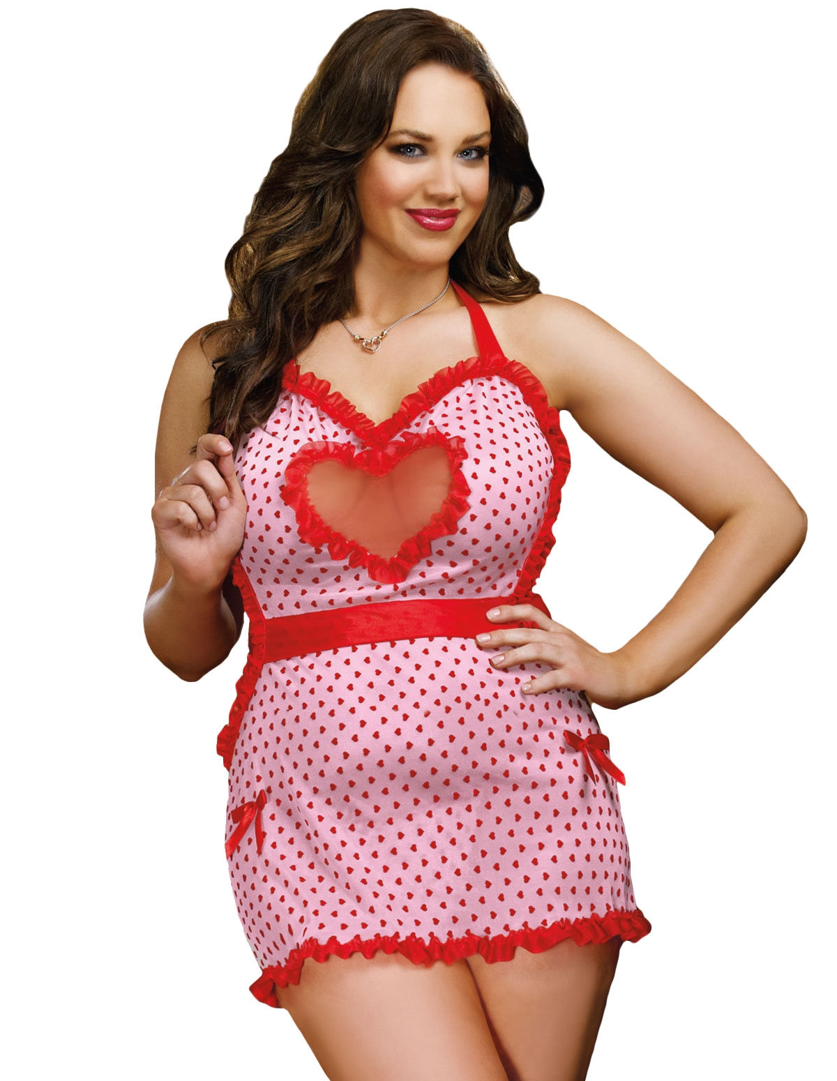 Sweet Seductions Sexy Apron - Plus