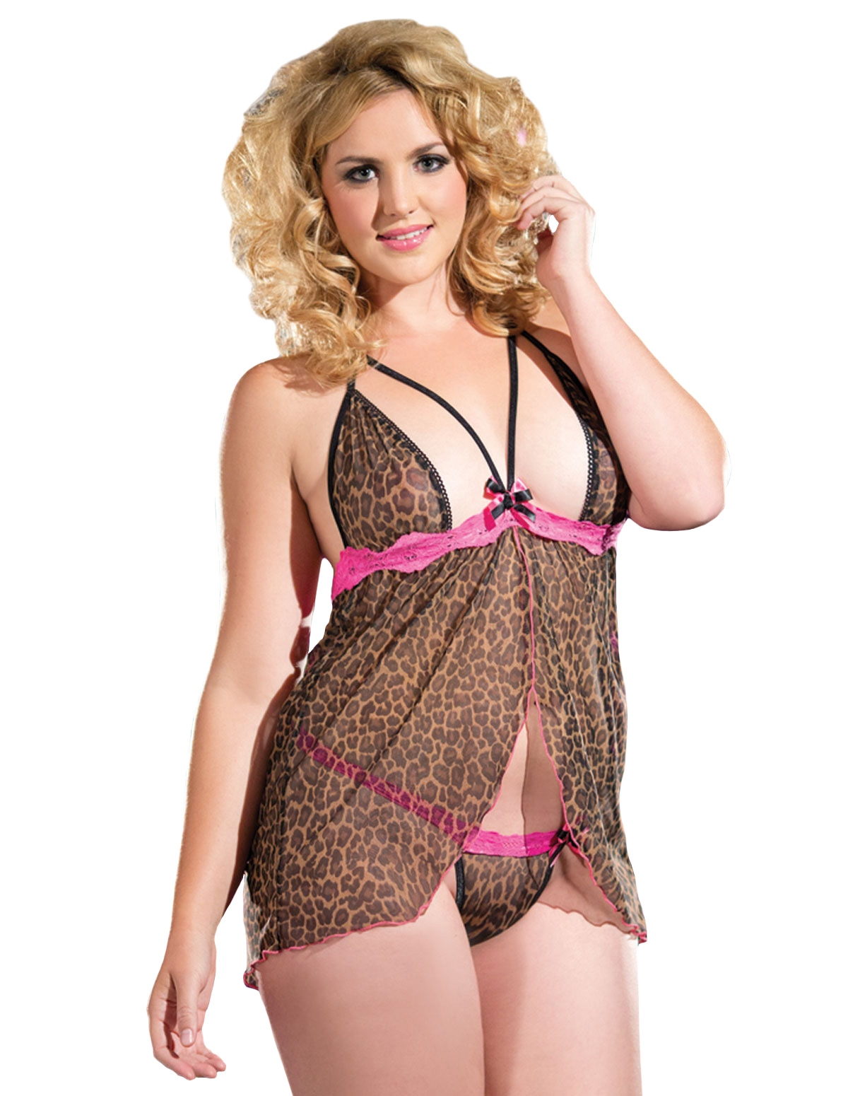 Purrrfect Temptress Babydoll - Plus