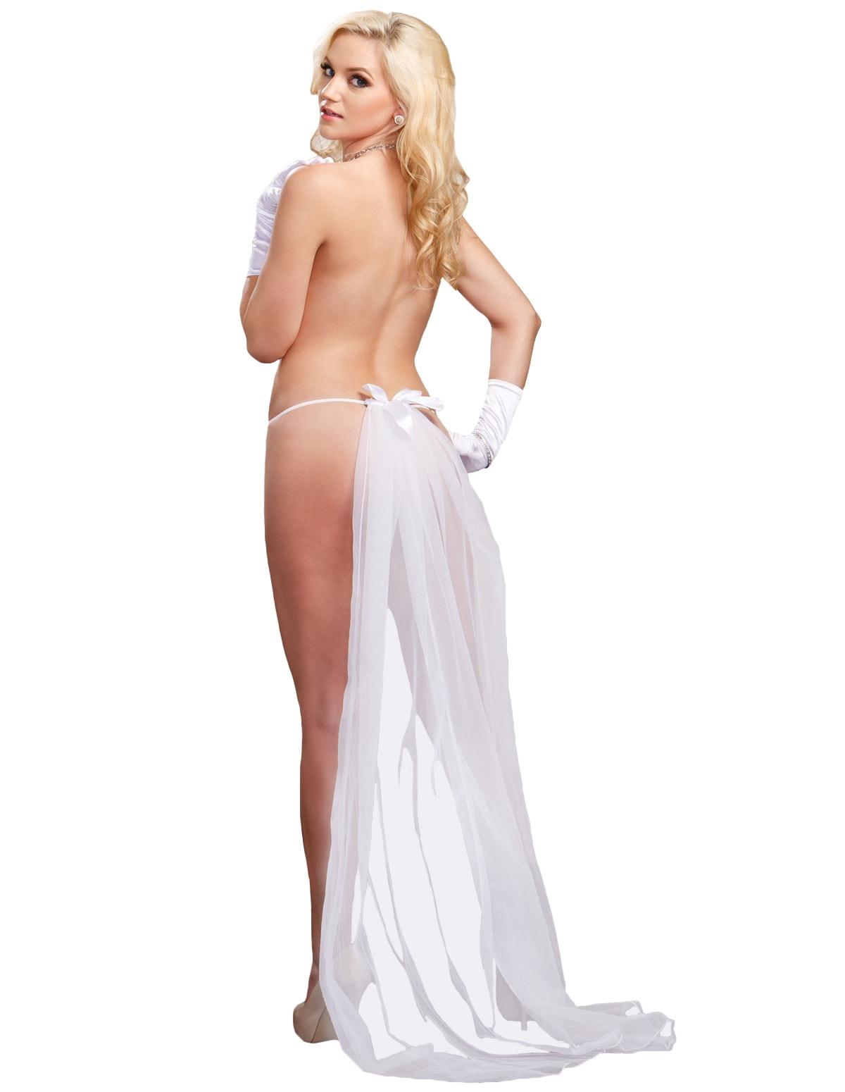 Long Veil Thong