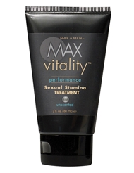 MAX VITALITY SEXUAL STAMINA TREATMENT