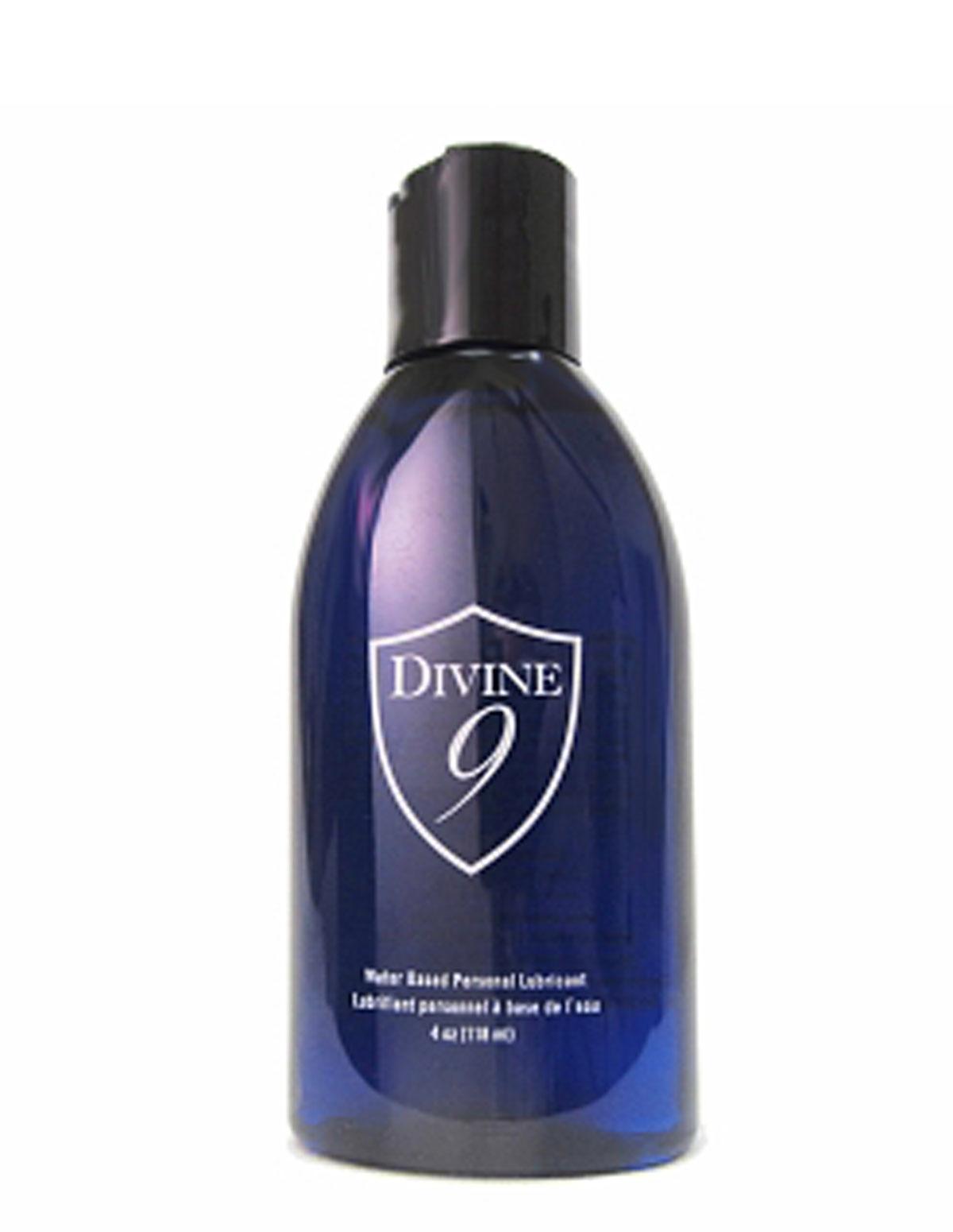 Divine 9 Lubricant 4 Oz Bottle