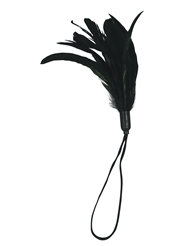 PLEASURE FEATHER BLACK