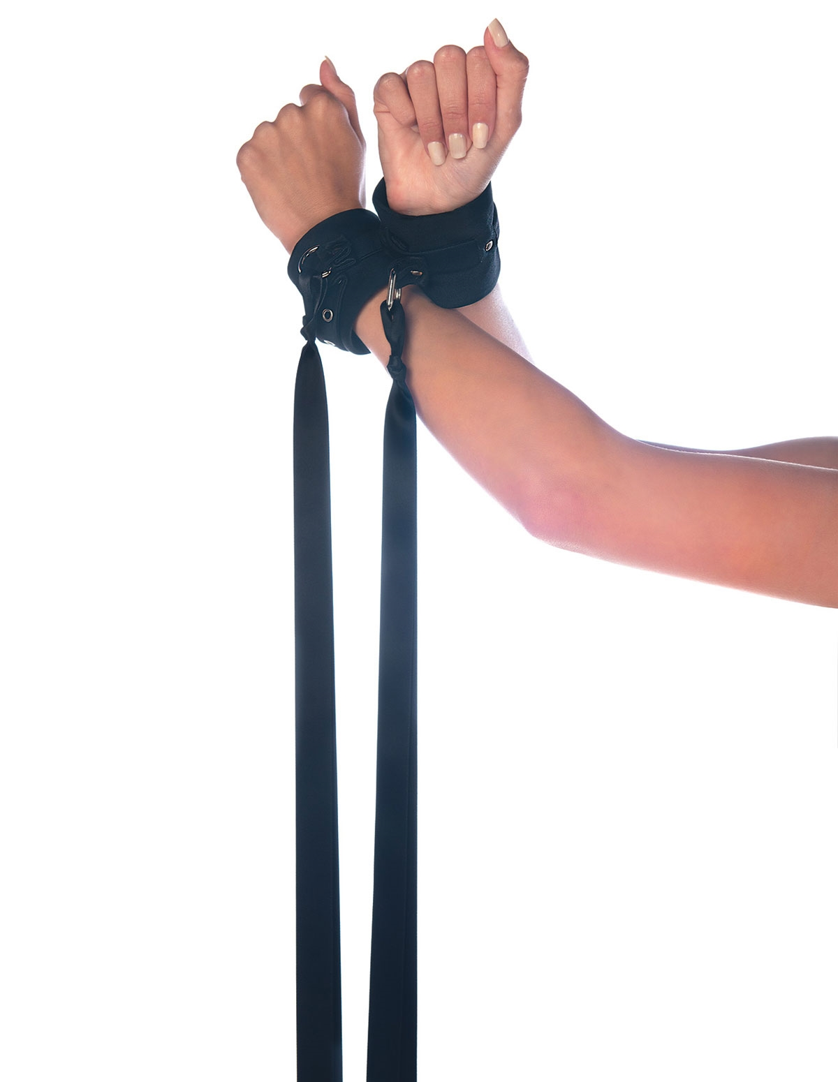 Fetish Soft Adjustable Wrist Cuffs