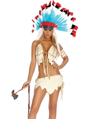 TRIBAL TEASE COSTUME