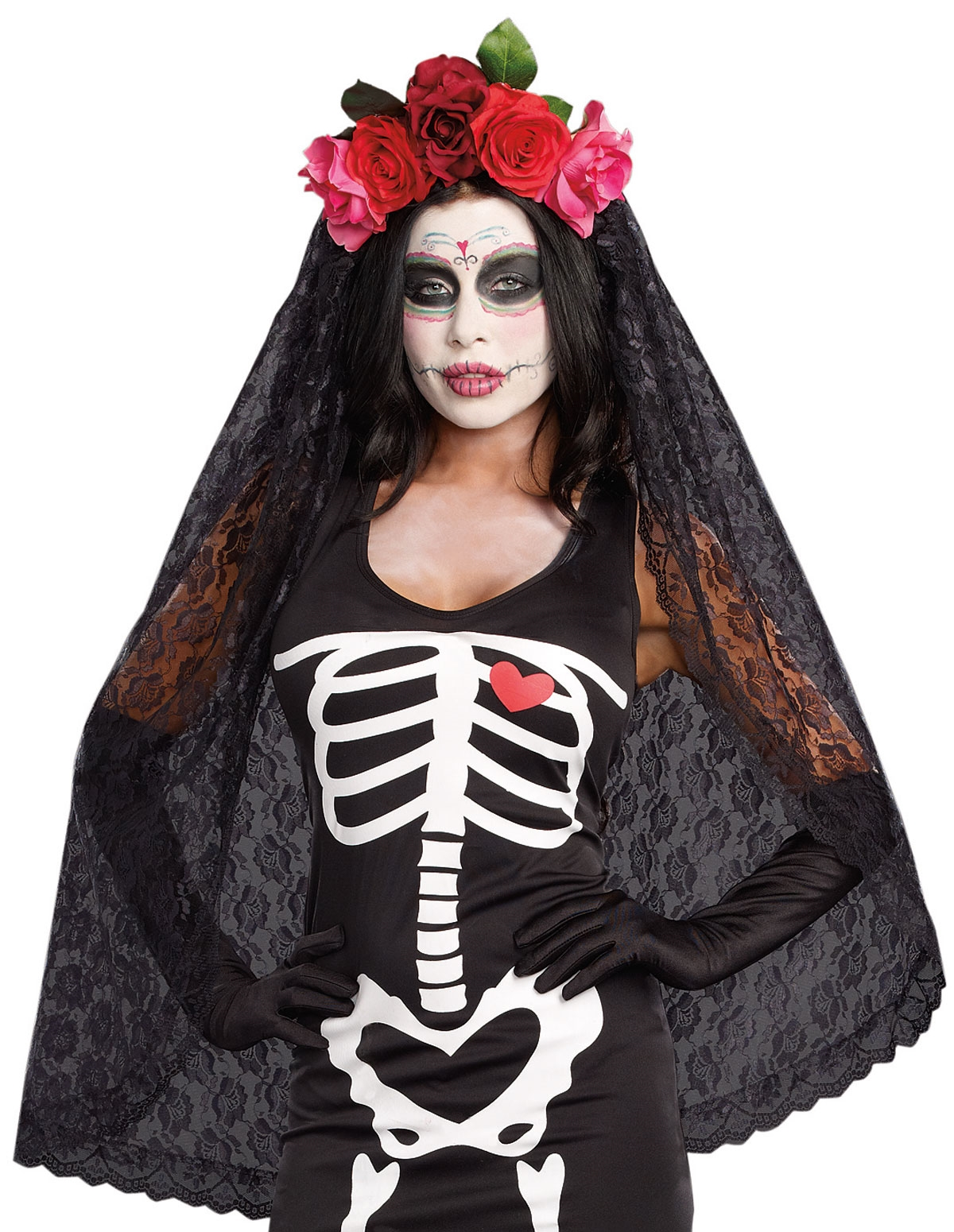 Day Of The Dead Headpiece
