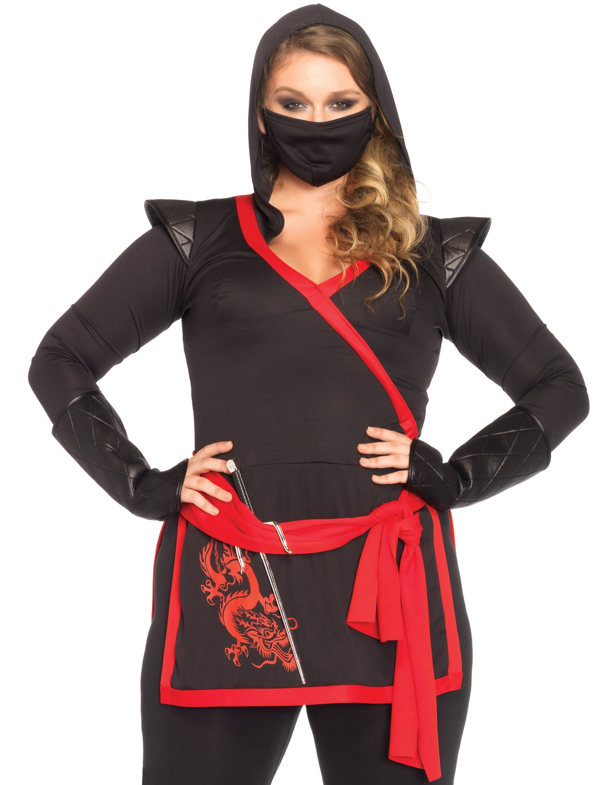 Ninja Assassin Costume - Plus