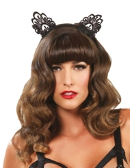 VENICE LACE CAT EARS