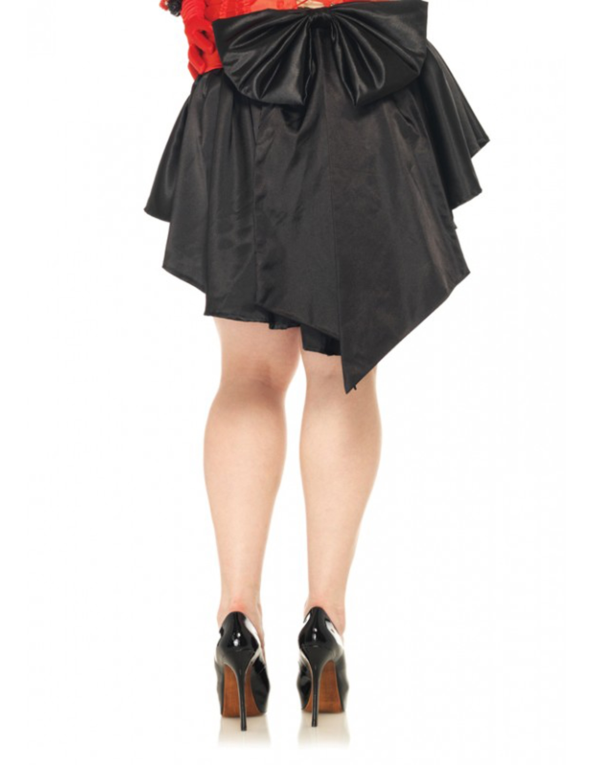 Satin Burlesque Skirt - Plus