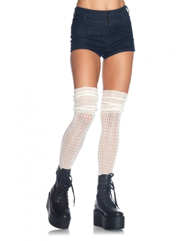 OVER THE KNEE SCRUNCH SOCKS