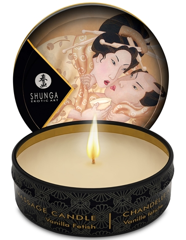 MINI MASSAGE CANDLE - VANILLA FETISH