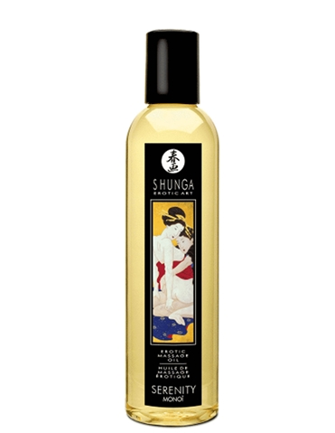 EROTIC MASSAGE OIL SERENITY MONOI