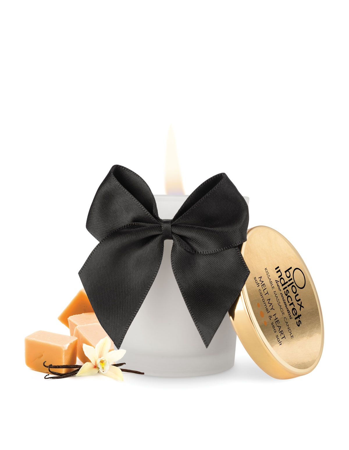 Melt My Heart Kissable Massage Candle - Caramel
