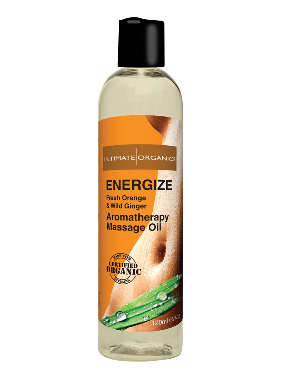 Energize Massage Oil 4Oz