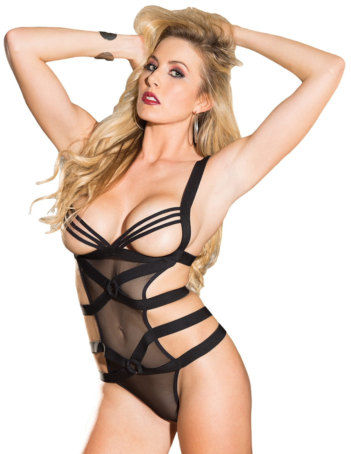 Hard Seduction Strappy Teddy