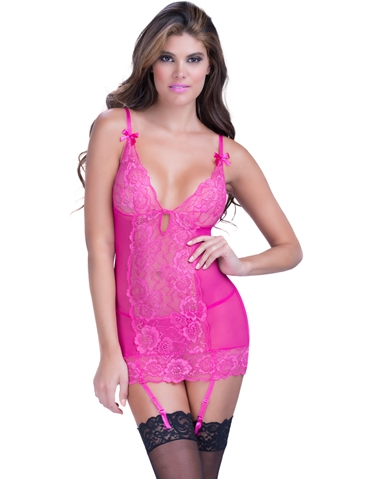 SOFT CUP LACE CHEMISE