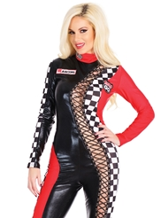 LACE-UP RACER GIRL COSTUME