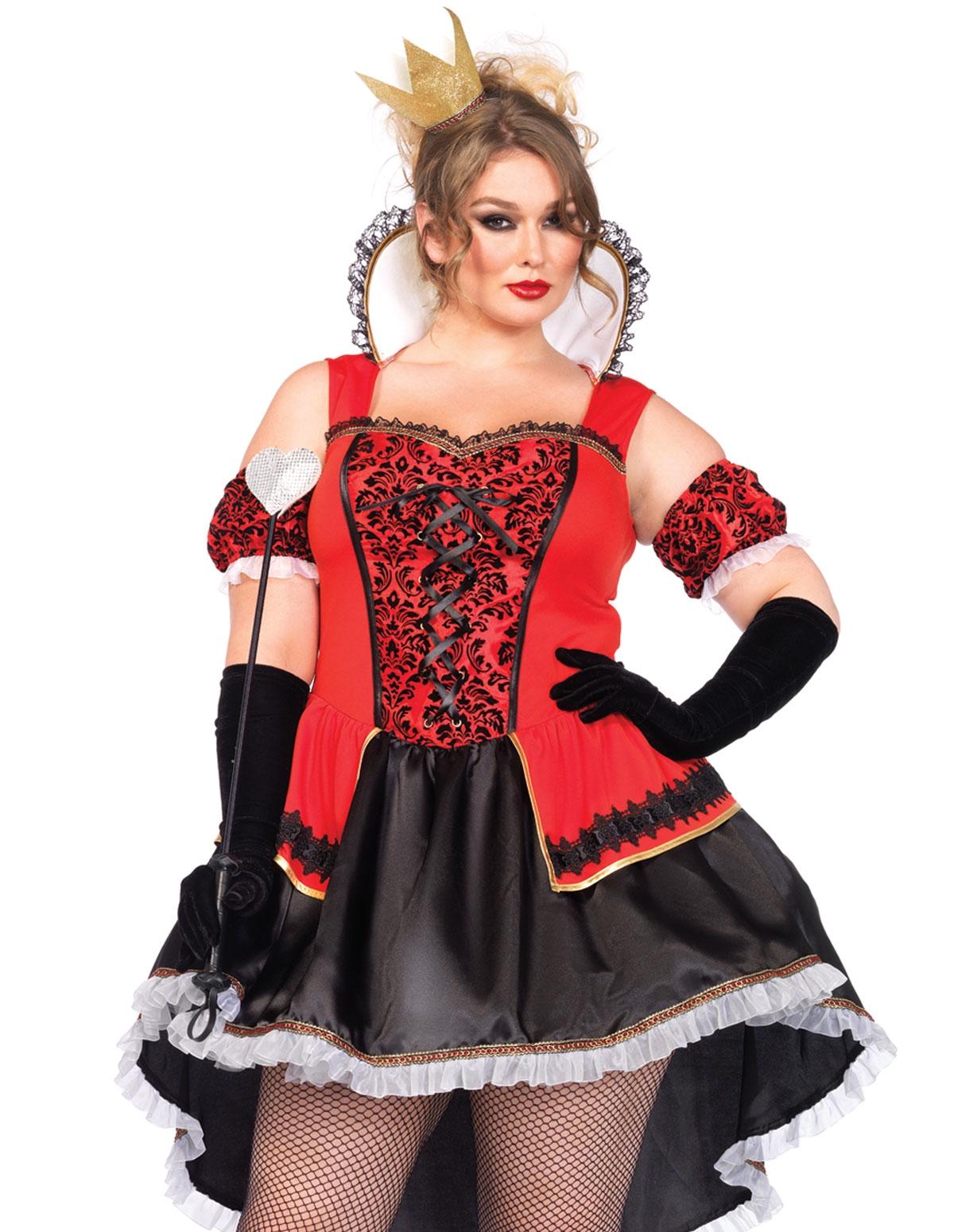 Royalty Queen Costume - Plus
