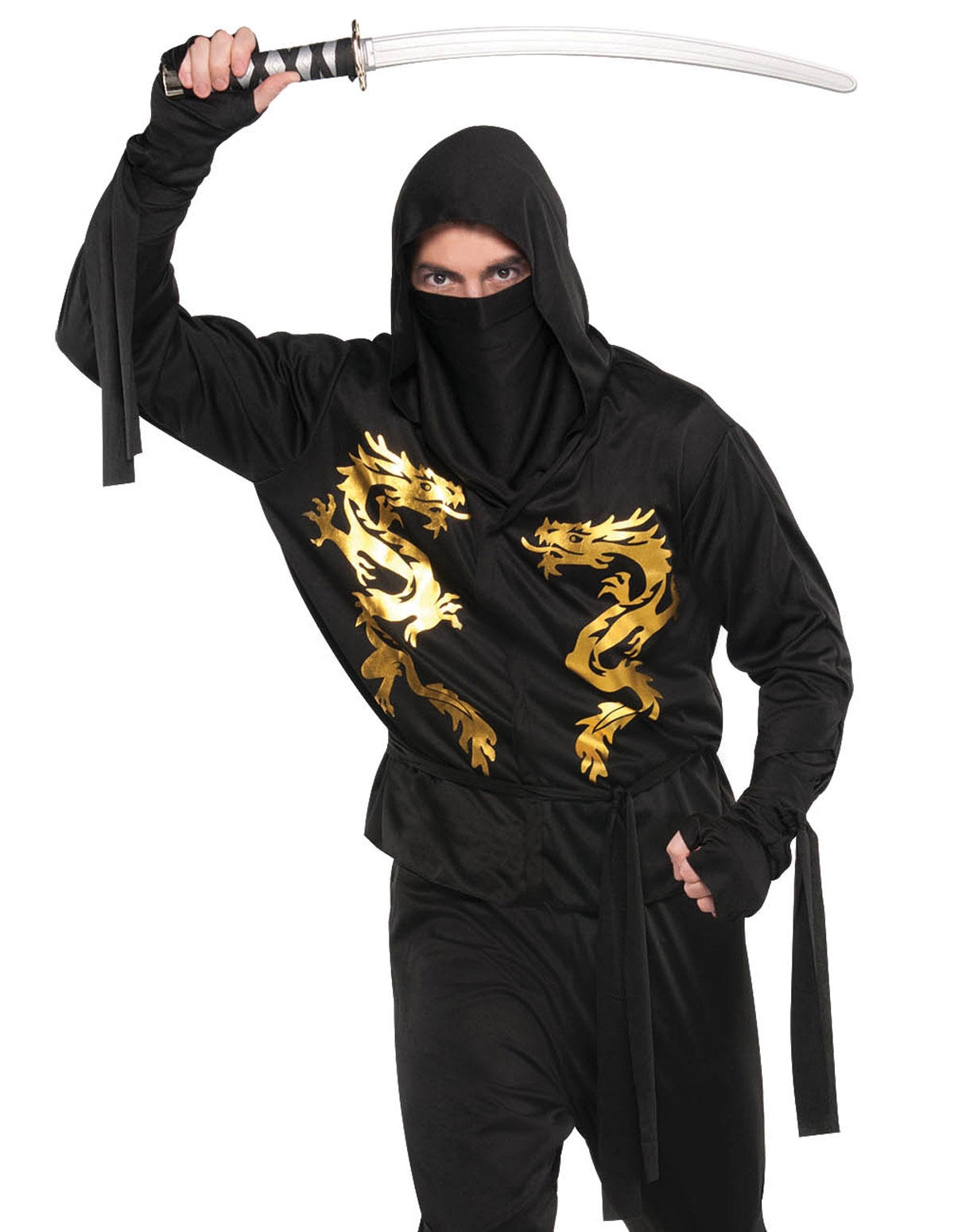 Black Dragon Ninja Costume